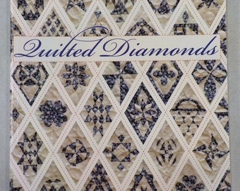Quilted Diamonds, Jane Austen, Jane Stickle, & Friends, by Linda Franz of Inklingo