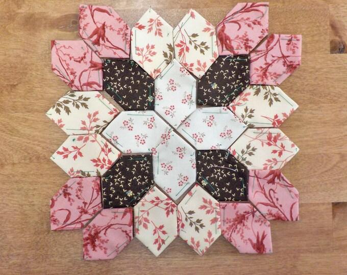 Lucy Boston Patchwork of the Crosses civil war block kit #46