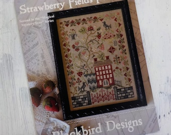 """Strawberry Fields Forever, """"Magical Mystery Tour"""" Series #2, by Blackbird Designs...cross-stitch design"""