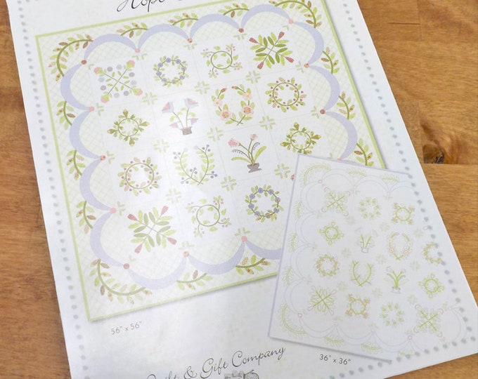Hope Blooms by Brenda Riddle of Acorn Quilt and Gift Company