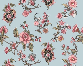 Jane Austen At Home Cassandra for Riley Blake Designs...classic floral