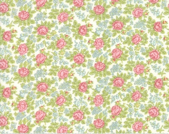 Bramble Cottage 18694-11 Linen by Brenda Riddle Designs for Moda Fabrics