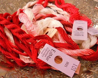 Peppermint Thread Pack of 10 skeins of Edmar Thread.