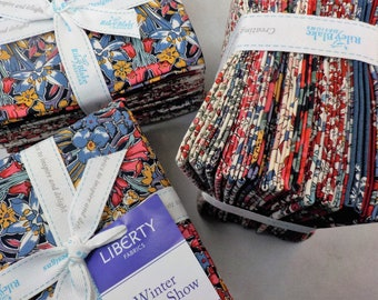 Winter Flower Show Collection by Liberty fabrics for Riley Blake Designs...15--fat quarters