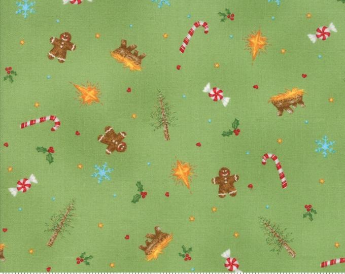 Good Tidings Pine 18660-14 by Brenda Riddle for moda fabrics