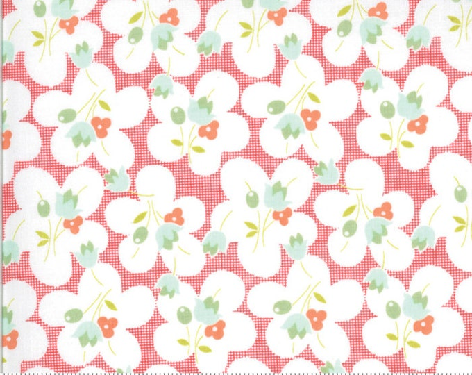 Chantilly Geranium 20342 15 by Joanna Figueroa of Fig Tree Quilts for moda fabrics