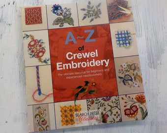 A~Z of Crewel Embroidery by Search Press Classics