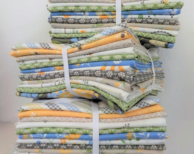 Featured listing image: Spring Brook 12 fat quarter bundle by Corey Yoder of Coriander Quilts for Moda Fabrics, exclusive bundle