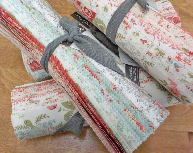 Porcelain layer cake by 3 Sisters for Moda Fabrics...factory cut 10 inch squares, 42--10 inch squares