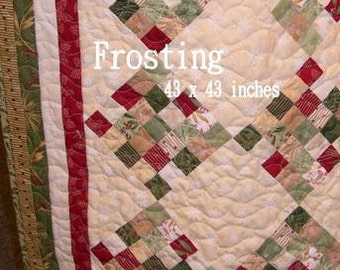 PDF Frosting pattern by Mickey Zimmer for Sweetwater Cotton Shoppe