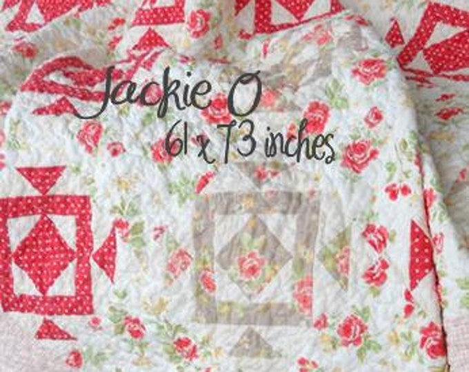 PDF Jackie O pattern designed by Mickey Zimmer for Sweetwater Cotton Shoppe