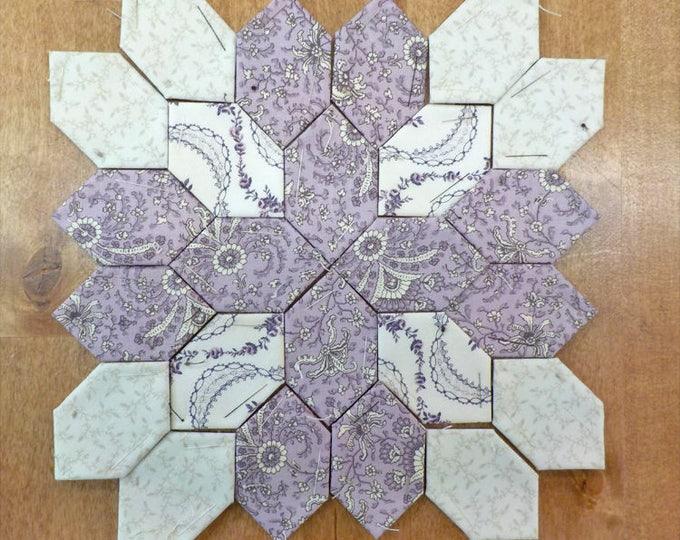 Lucy Boston Patchwork of the Crosses civil war block kit #35