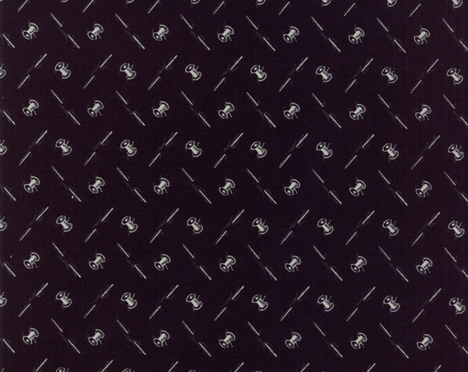 Needle Thread Gatherings Soot 1231 15 by Primitive Gatherings for moda fabrics