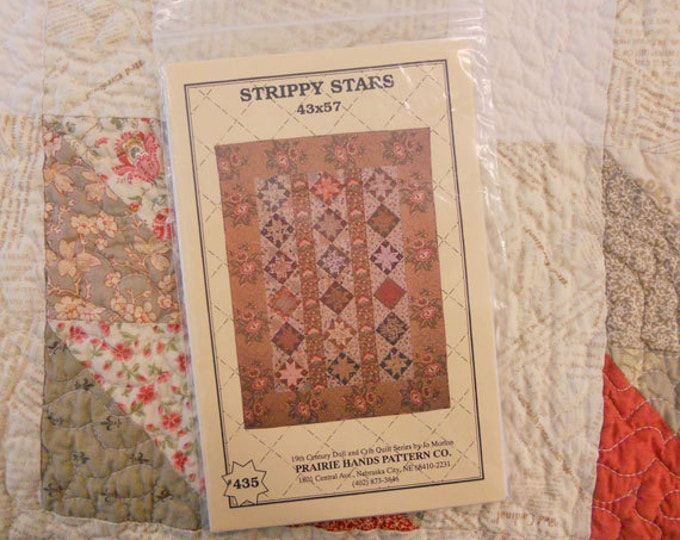 Strippy Stars by Jo Morton of Prairie Hands Patterns