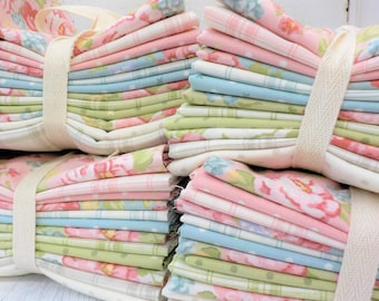 Cozy Cottage featuring Bramble Cottage by Brenda Riddle Designs for Moda Fabrics...12 fat quarters