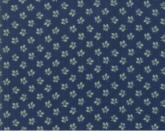 Sarah's Story 1830-1850, Indigo 31597 21 fabric designed by Betsy Chutchian for Moda Fabrics