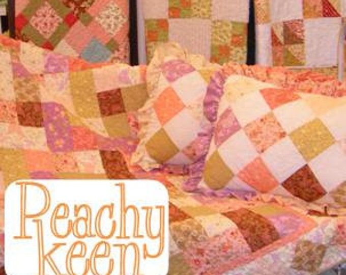 Peachy Keen...book by Mickey Zimmer for Sweetwater Cotton Shoppe