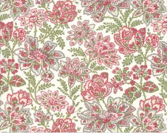 Rue 1800 44222-11 Porcelain floral by 3 Sisters for Moda Fabrics