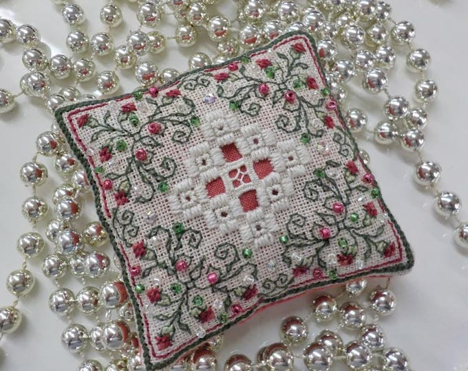 Teenie Hardanger IV by The Sweetheart Tree bySandra cox Vanosdall, kitted complete, cross stitch, hardanger, embroidery