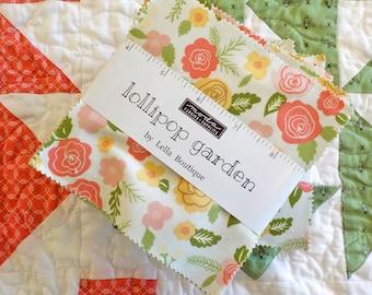 Lollipop Garden charm pack by Lella Boutique for Moda Fabrics...exclusive bundle
