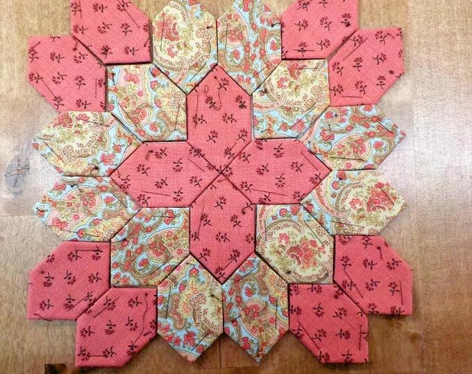 Lucy Boston Patchwork of the Crosses civil war block kit #31