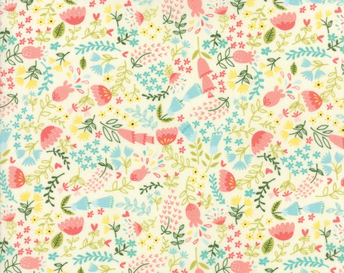 Home Sweet Home cream 20574 11 by Stacy Iest Hsu for Moda Fabrics