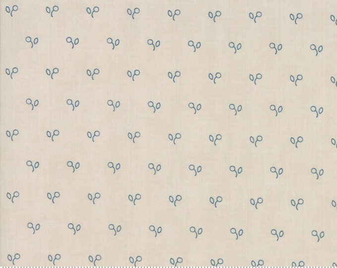 Northport Prints Cream Navy 14887 13 by Minick and Simpson for Moda Fabrics