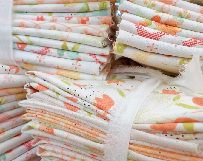 Low Volume Chantilly...exclusive bundle...fabric designed by Joanna Figueroa of Fig Tree Quilts for moda fabrics
