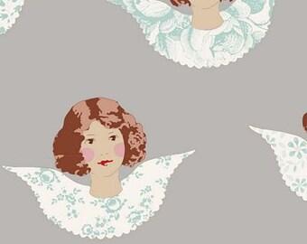 Old Rose Angel Scraps Grey TIL110001-V11...a Tilda Collection designed by Tone Finnanger