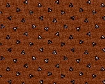 Prairie Dry Goods R1759-DK-RUST by Pam Buda for Marcus Fabrics