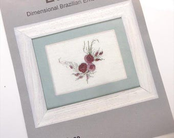 Summer Rose...EdMar kit...Brazilian embroidery