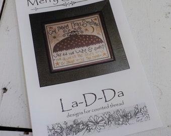 Merry Sunshine by La-D-Da...cross stitch pattern