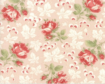 Victoria Pink Ribbon 44161 11 by 3 Sisters for moda fabrics