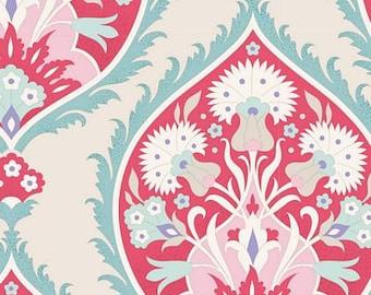 Bon Voyage Flowerleaf Red TIL100253-V11...a Tilda Collection designed by Tone Finnanger