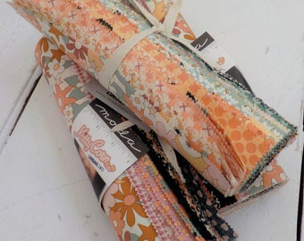 Kitty Corn layer cake by Urban Chiks for Moda Fabrics, 42--10 inch squares