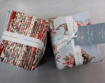Jane Austen At Home for Riley Blake Designs...classic floral fat quarter bundle, fat quarters