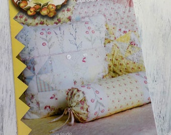 French Cottage Garden Pillows...by Meg Hawkey of Crabapple Hill Studio