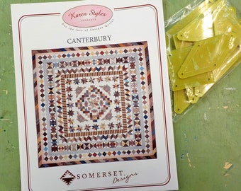 Canterbury by Karen Styles of Somerset Designs...pattern and acrylic templates