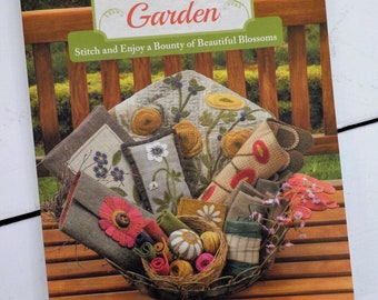 A Cottage Garden, Stitch and Enjoy a Bounty of Beautiful Blossoms, by Kathy Cardiff