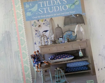 Tilda's Studio, over 50 fresh projects for you and your home, by Tone Finnanger of Tilda