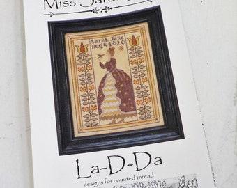 Miss Sarah Jane by La-D-Da...cross stitch pattern
