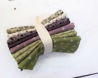 Purple Passion fat quarter bundle by Paula Barnes for Marcus Fabrics, exclusive bundle, 8 fat quarters