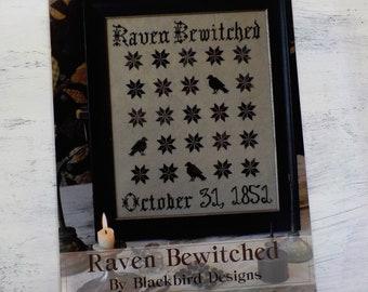 Raven Bewitched by Blackbird Designs...cross-stitch design