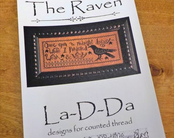 The Raven by La-D-Da...cross stitch pattern