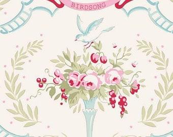 Old Rose Birdsong Dove White TIL100205-V11...a Tilda Collection designed by Tone Finnanger