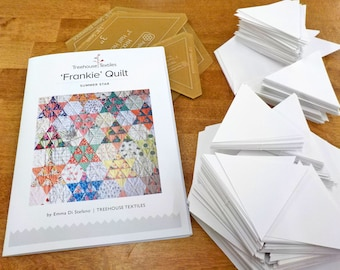 Frankie Quilt by Treehouse Textiles...pattern, acrylic templates, and paper pieces