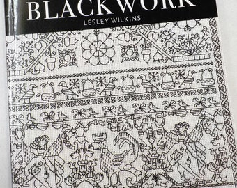 Beginner's Guide to Blackwork by Lesley Wilkins...Search Press Classics, embroidery