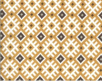 Folktale Gypsy Kiss Golden 5122 16 by Lella Boutique for Moda Fabrics