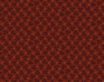 Prairie Dry Goods R1751-DK-RED by Pam Buda for Marcus Fabrics