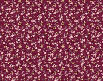 Exquisite C10704-BURGUNDY by Gerri Robinson of Planted Seed Designs for Riley Blake Designs